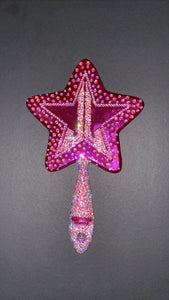 Mirroir rhinestone Jeffree Star couleur AB