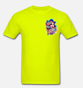 T-Shirt Rainbow jaune