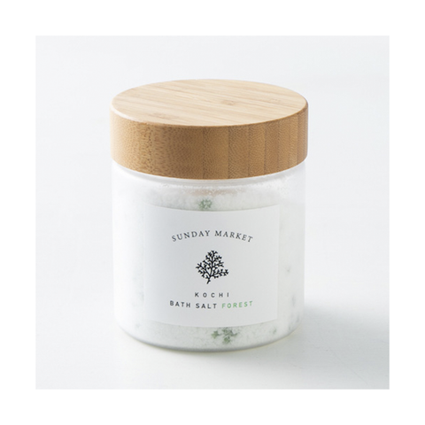SUNDAYMARKET / BATH SALT - FOREST - &anika