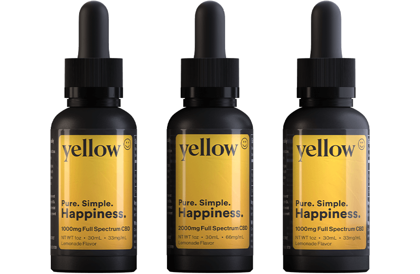 Yellow CBD Products