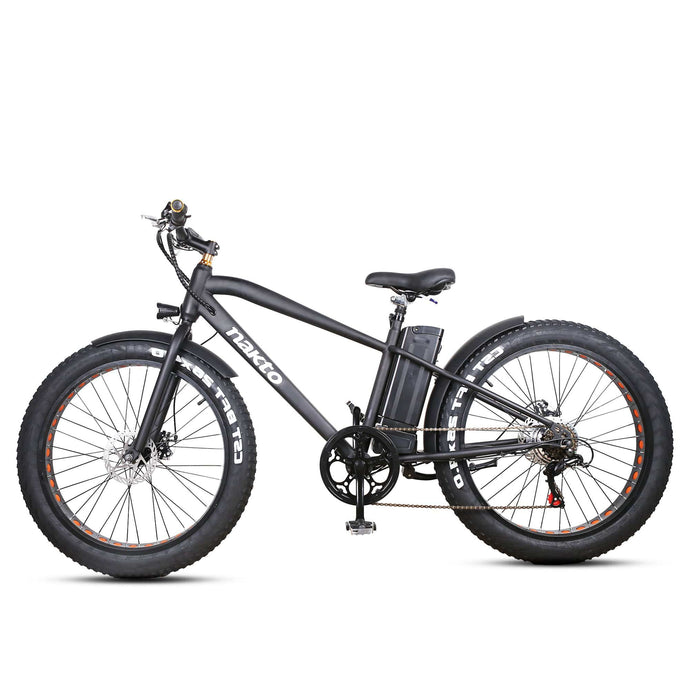 NAKTO Fat Tire Electric Bicycle 26