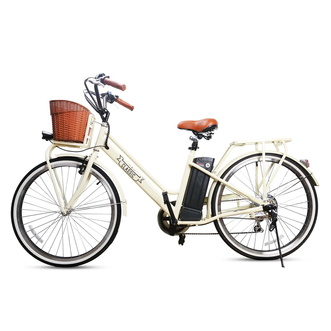 NAKTO city electric bicycle Classic 26