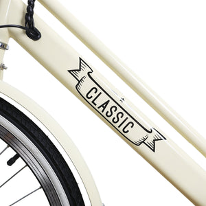 "NAKTO city electric bicycle Classic 26"" - Pure Energy Bikes"