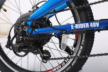 Load image into Gallery viewer, X-Treme E-Rider 48 Volt Mini Folding Electric Bicycle