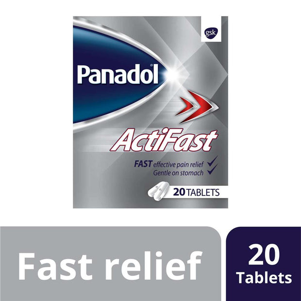 Panadol Actifast Tablets 20's