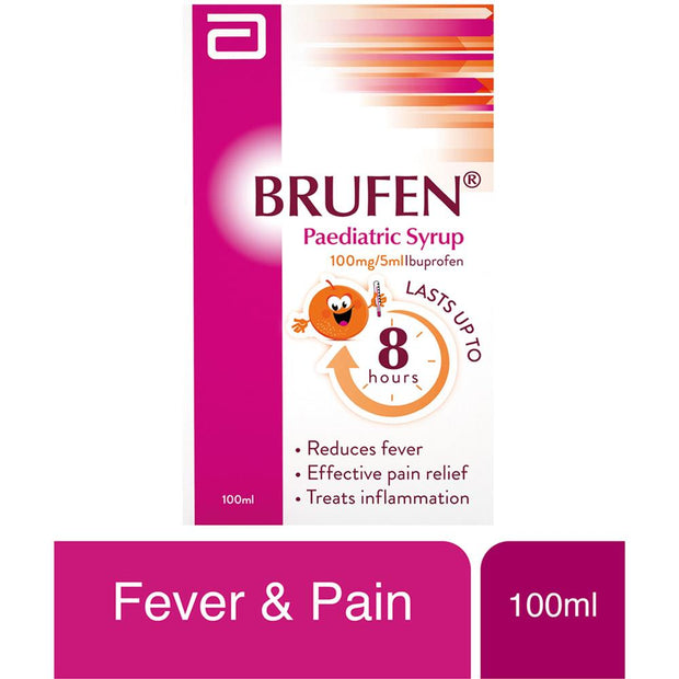 Brufen 100mg/5ml Syrup 100ml