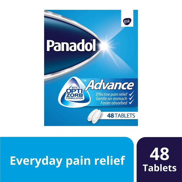 Panadol Advance Optizorb Tablets 48's