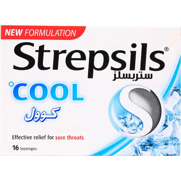 Strepsils Cool Lozenges 16's