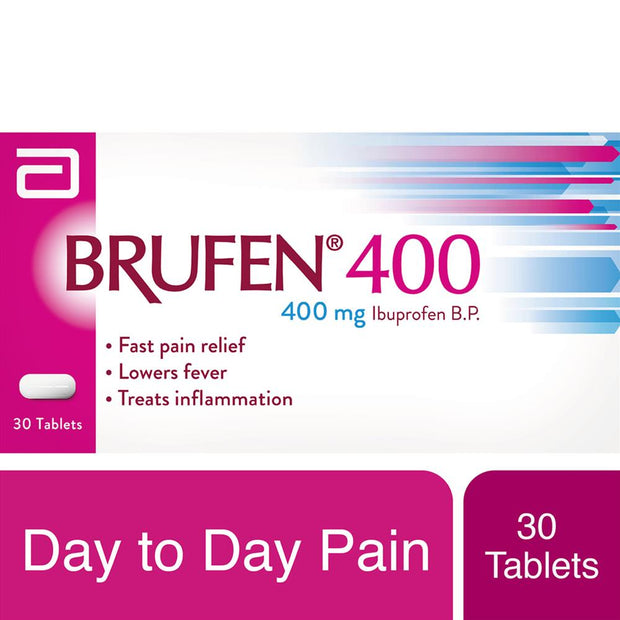 Brufen 400mg Tablets 30's