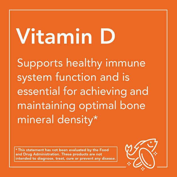 NOW®High Potency Vitamin D-3 2000 IU 120 Softgels