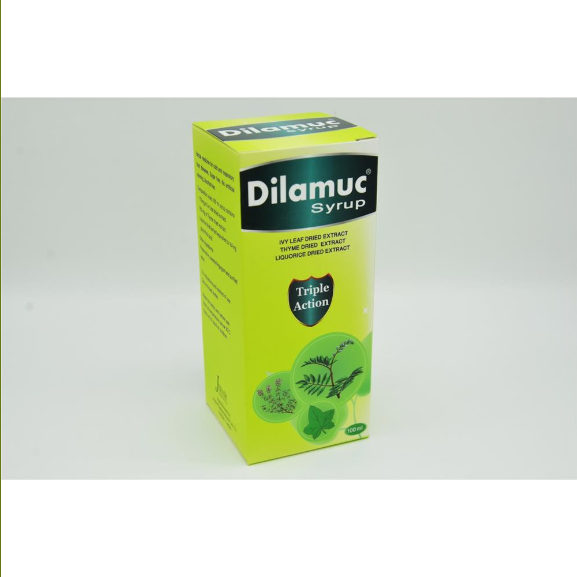 Dilamuc Triple Action Syrup 100ml