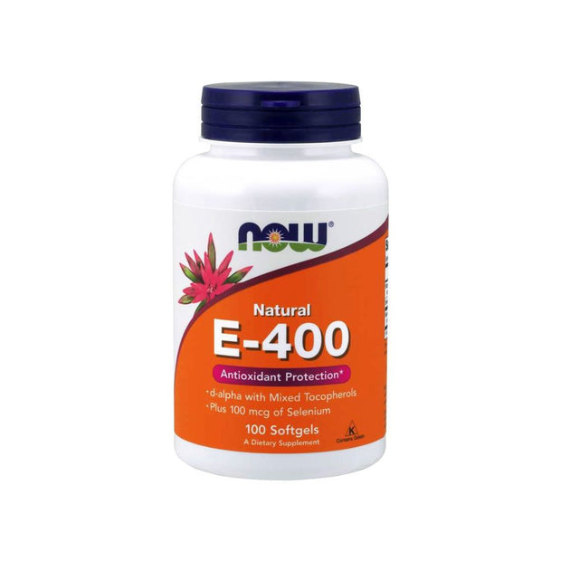 NOW® Vitamin E-400 IU 100 Softgels