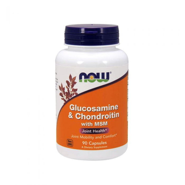NOW® Glucosamine & Chondroitin with MSM Joint Health 90 Capsules