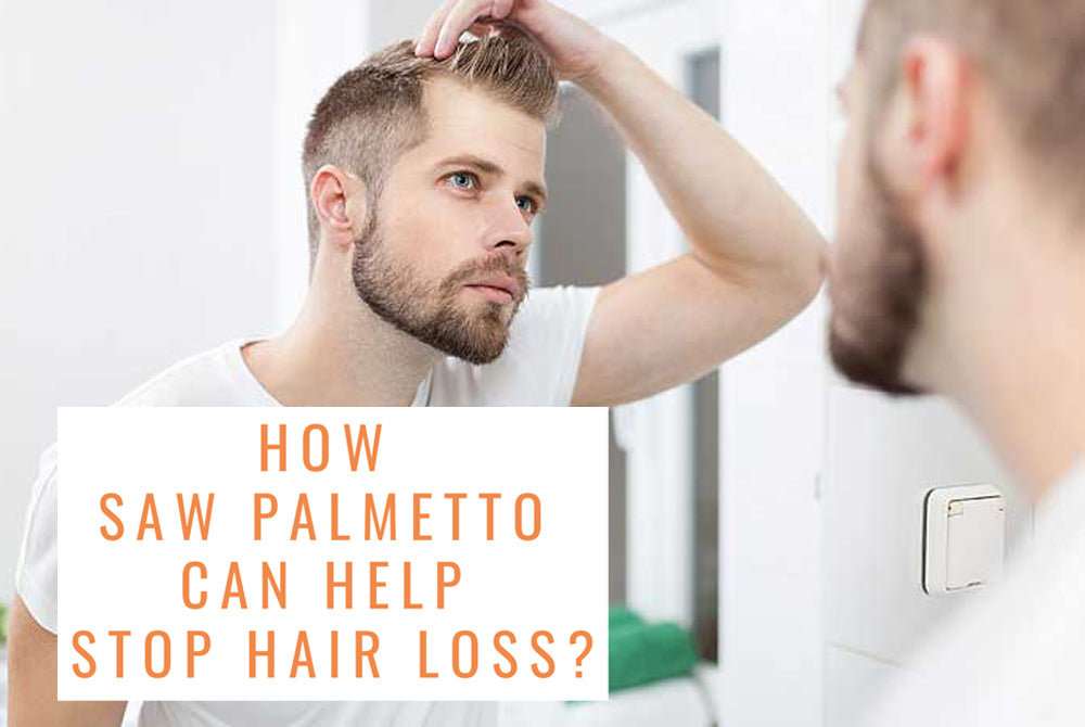 How Saw Palmetto can help stop hair loss
