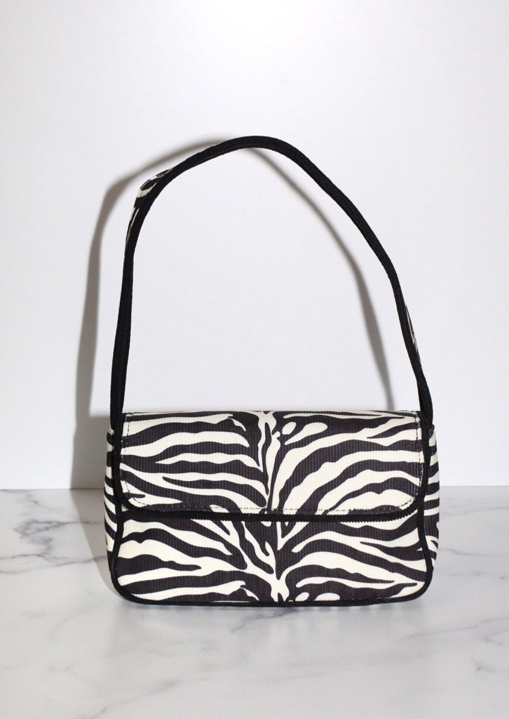 Stripe Shoulder Bag Online