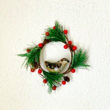 Load image into Gallery viewer, Mini Beige Sparrow Wreath
