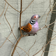 Load image into Gallery viewer, Clip-on turtle dove ornaments