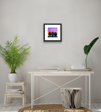 "Load image into Gallery viewer, ""3 at Sunset"" print"