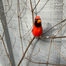 Load image into Gallery viewer, Clip-on cardinal ornaments
