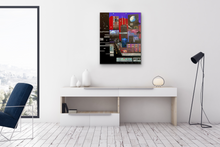 "Load image into Gallery viewer, ""Late Night Dreamscape"" original painting"