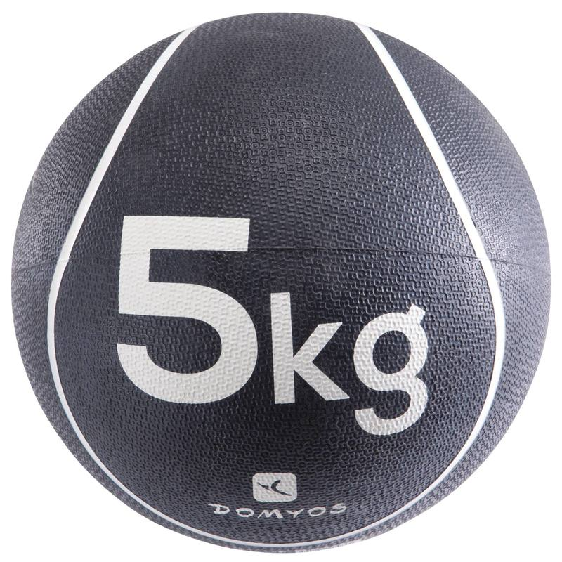 Pilates Toning Weighted Medicine Ball 5 kg.