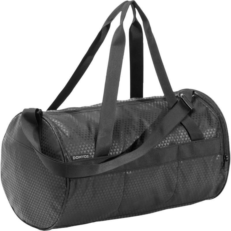 Fitness Cardio Training Bag 20L - Black Print.