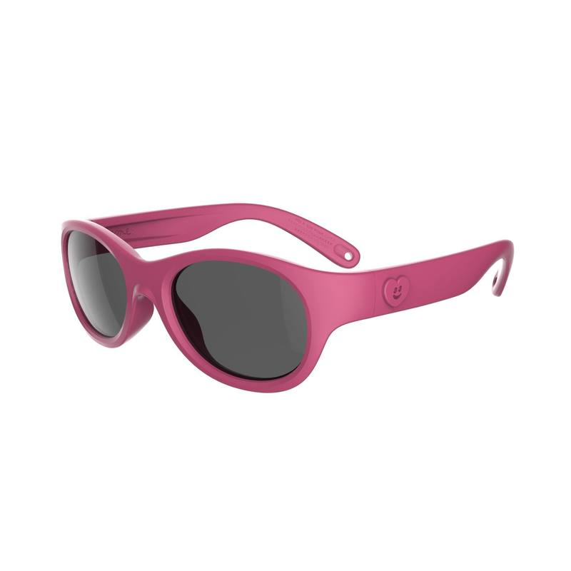Children category 3 Hiking Sunglasses Ages 3-5 MH K 100 - Pink.