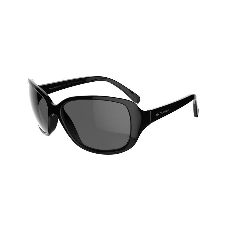 Womens Category 3 Polarising Hiking Sunglasses MH530W - Black.