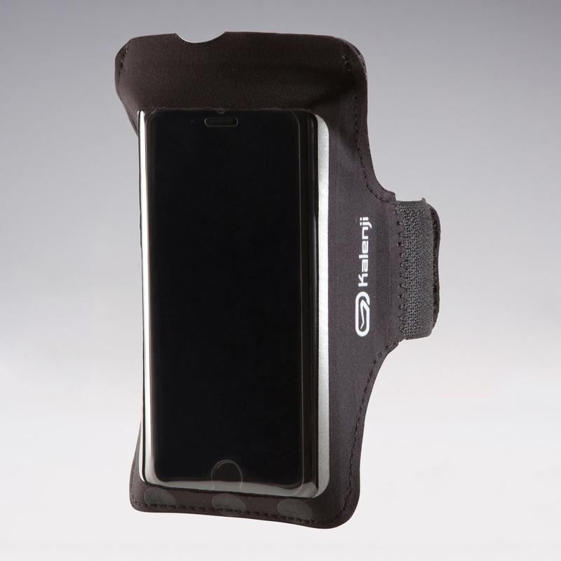 BIG SMARTPHONE RUNNING ARMBAND - BLACK.