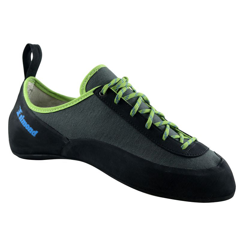 ROCK ADULT CLIMBING SHOES GREY.