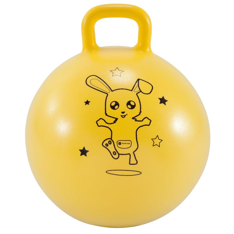 Resist 45 cm Kids Gym Space Hopper - Yellow.