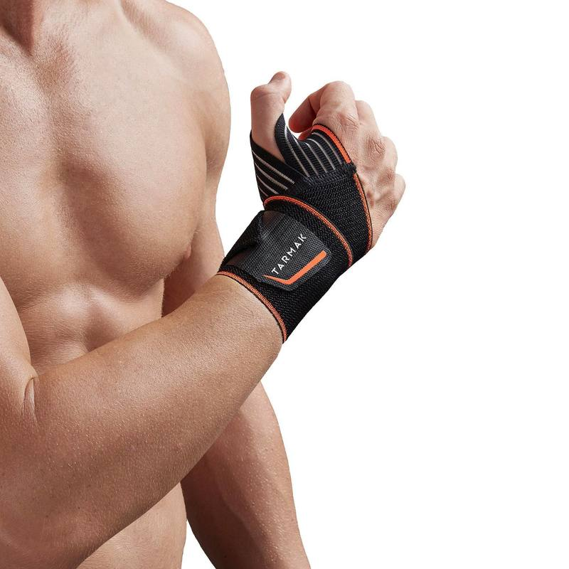 Soft 300 Mens/Womens Left/Right Wrist Support - Black.