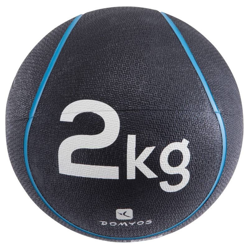 Pilates Toning Weighted Medicine Ball 2 kg.