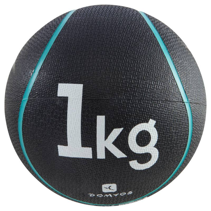 Pilates Toning Weighted Medicine Ball 1 kg.