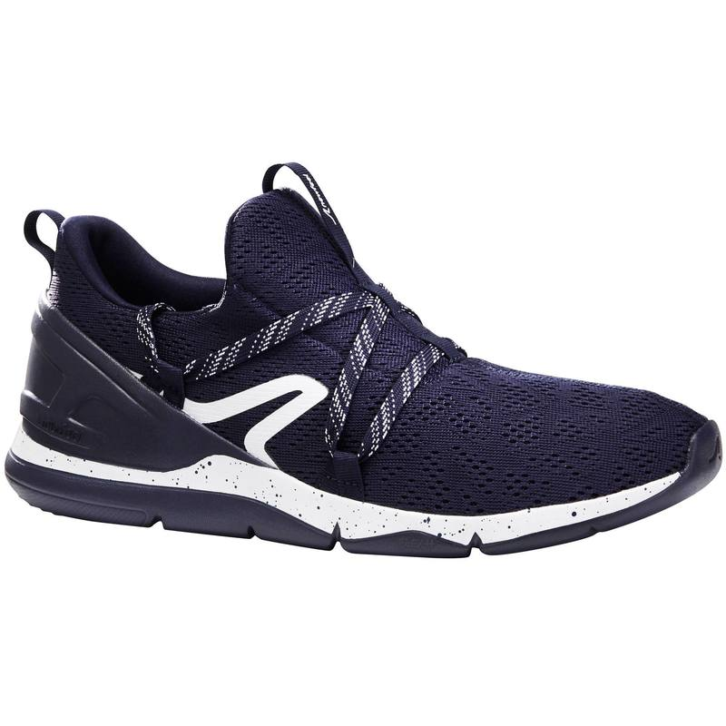 PW 140 mens fitness walking shoes blue / white.