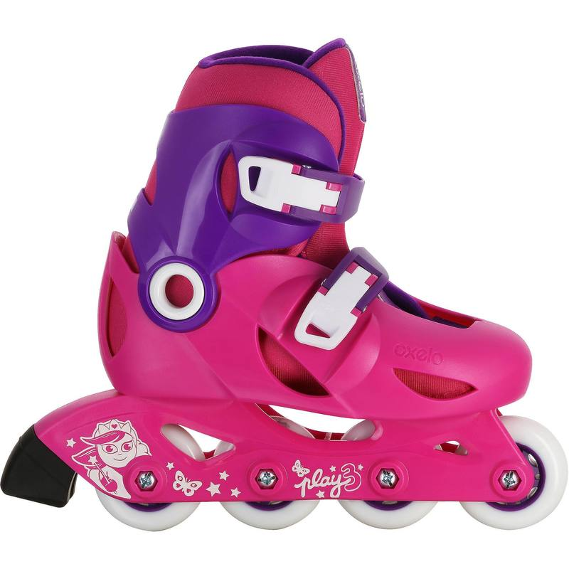 Play 3 Kids Skates - Pink/Purple.
