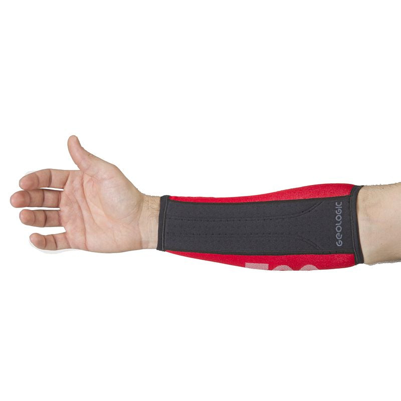 Club 700 Archery Armguard - Red/Black.