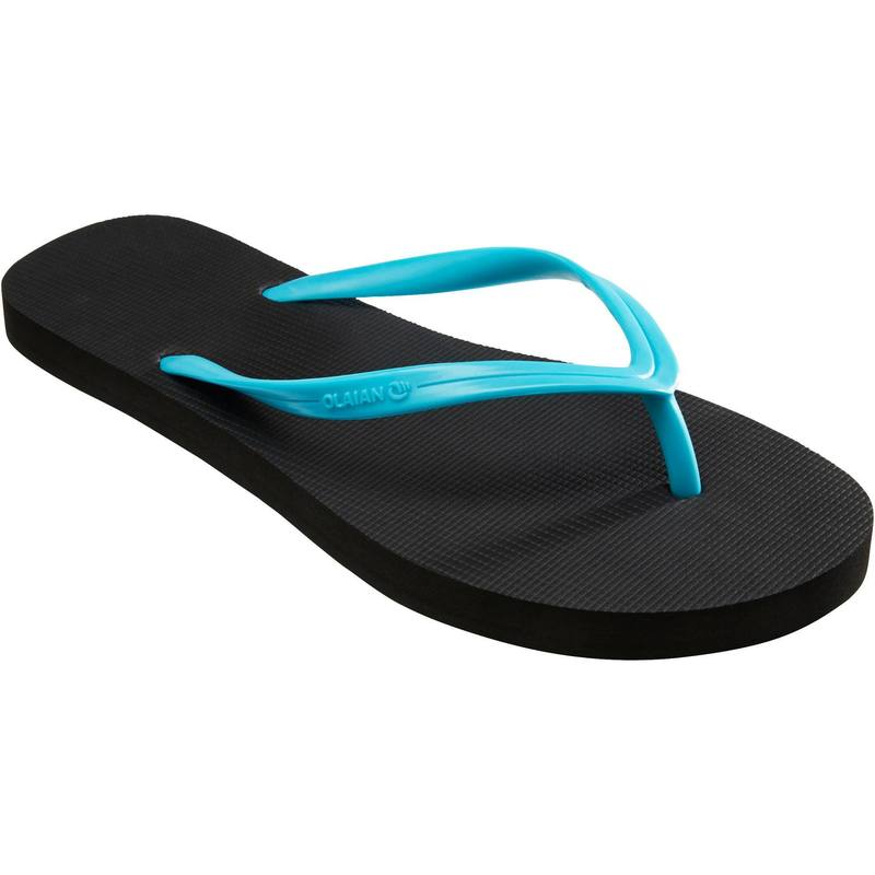 Womens FLIP-FLOPS TO 50 Black Turquoise