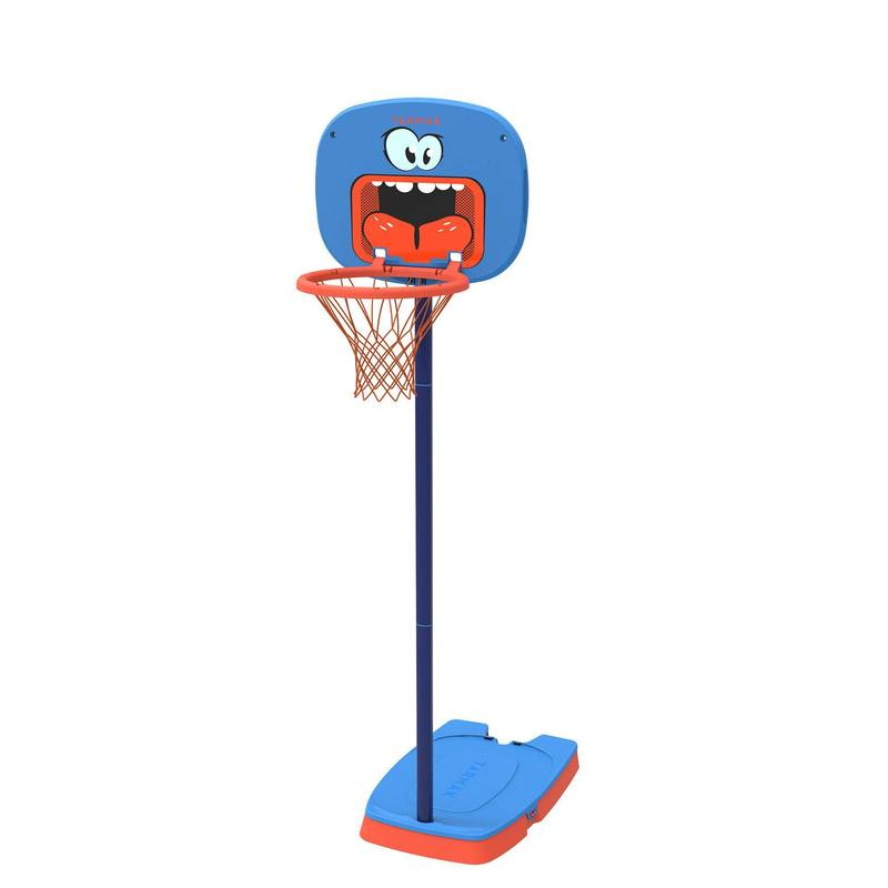 K100 Monster Kids Basketball Basket - Blue 0.9m to 1.2m. Up to age 5.