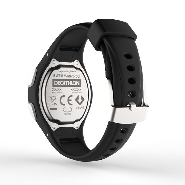 W200 S running watch timer black.