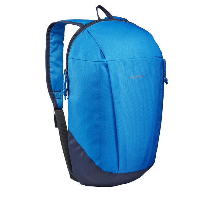 Hiking Bag 10 Litre NH100 - Electric Blue.