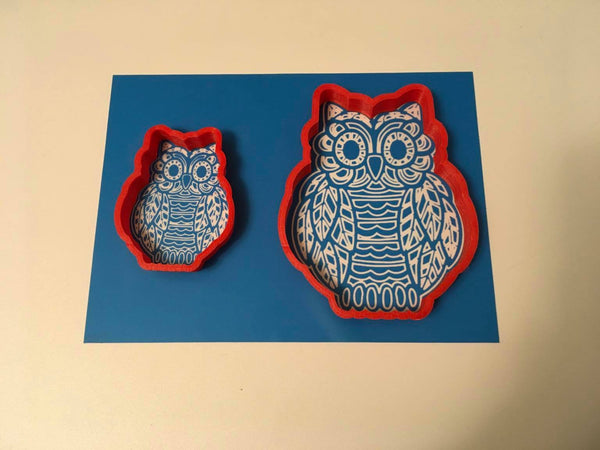 ColorMe #14, Owl