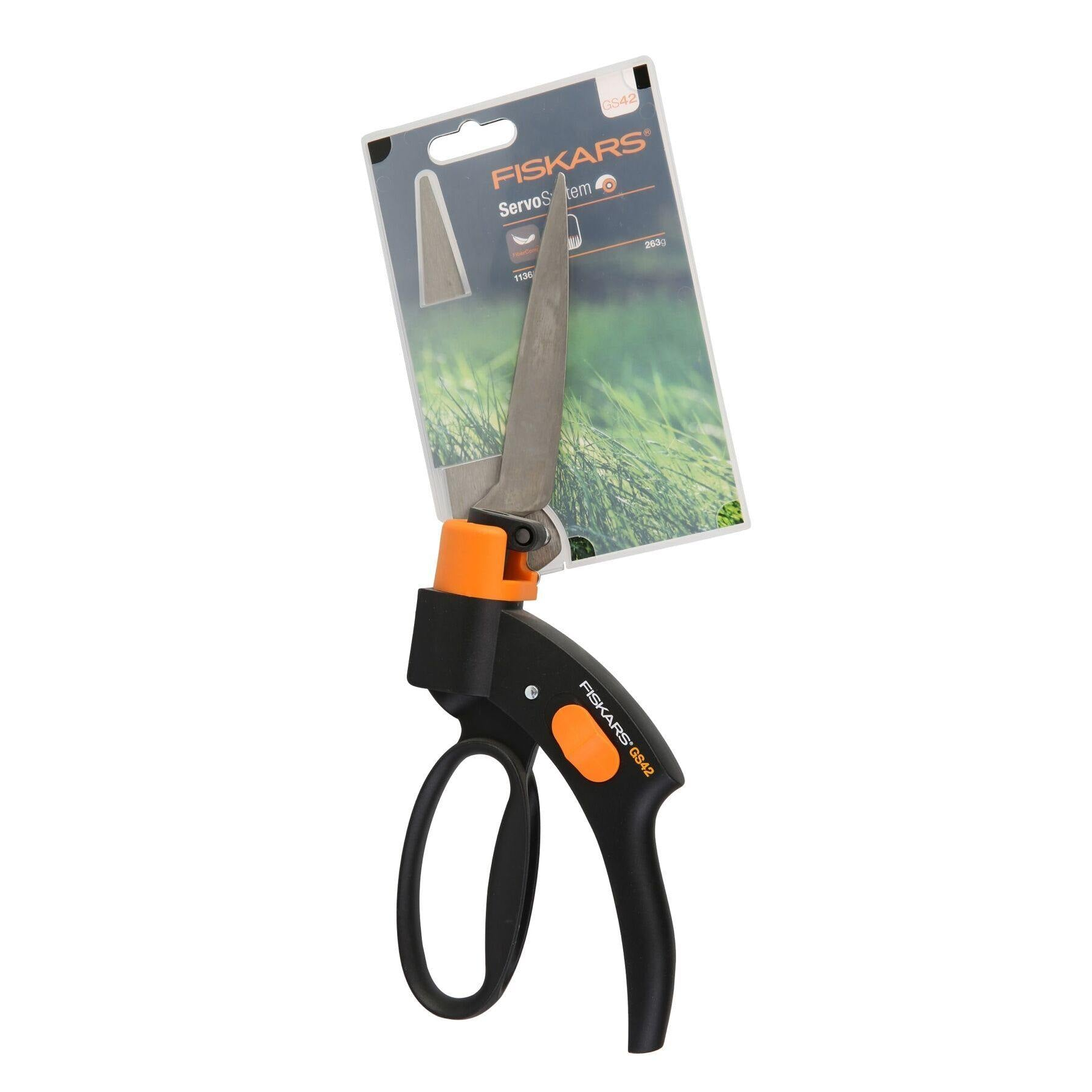 Fiskars Grass Shear Cutters (33 cm)