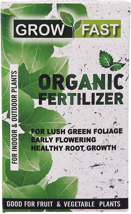 Growfast Organic Fertilizer For Outdoor & Indoor Plants