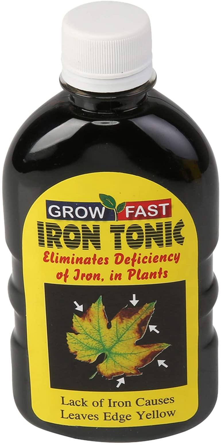 Growfast Iron Tonic, {QTY - 250ml} (For Outdoor & Indoor Plants)