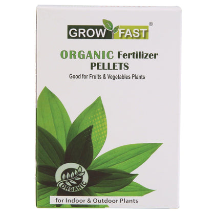 Growfast Organic Fertilizer Pellets (Perfect for Fruits & Vegetables Plants)