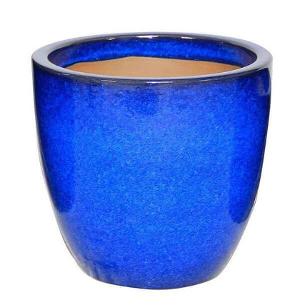 Blue Ceramic Pot
