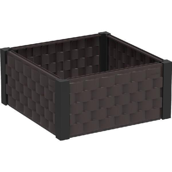 Square Raised Plastic Garden Bed