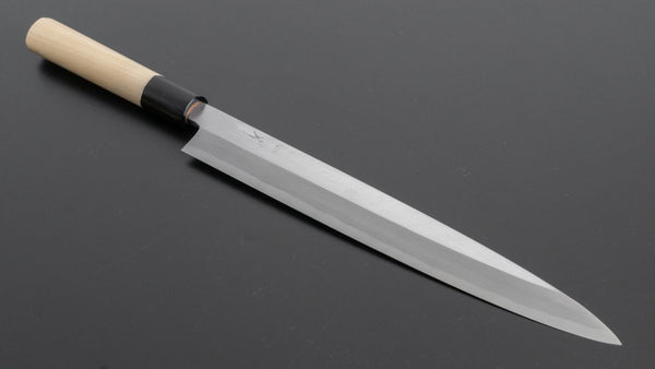 Hitohira Kikuchiyo Manzo White #3 Yanagiba 270mm Ho Wood Handle (D-Shape)