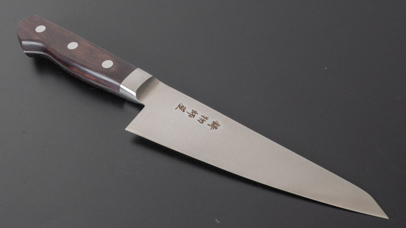 Hitohira Imojiya OKD VG-1 Honesuki Kaku 150mm Rosewood Handle